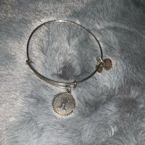 Alex and Ani K bracelet
